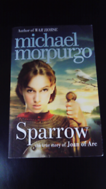 SPARROW BY MICHAEL MORPURGO BOOK