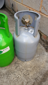 R134a gas cylinder full bottle 12kg for sale  Aveley, Essex