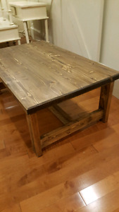 Farmhouse Rustic Coffee Table
