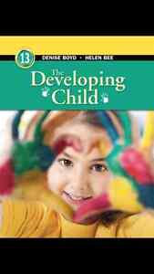 Developing child 13th edition and Essentials of Meteorology 7th