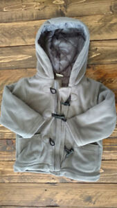 Super Soft Fleece Fall/Winter Jacket with Hood (12-24 months)