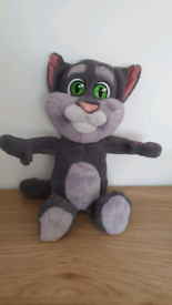 Talking TOM Soft Toy cat With Sounds - Repeats what you say GWO From a