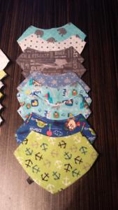 Bavoirs de bébé neuf, jamais porter