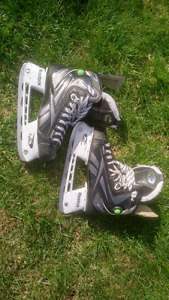 Ice Hockey Skates, Reebok 14K, sz 8D and Bauer One.6, sz 9D.