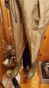 Bottes de peche avec culottes