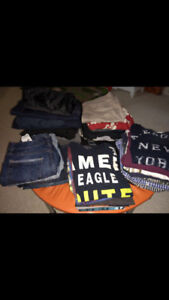 MEN CLOTHING SIZE MEDIUM / GROS LOT DE LINGES HOMME MEDIUM