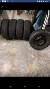 Winter Tires on rims 205 65/R15