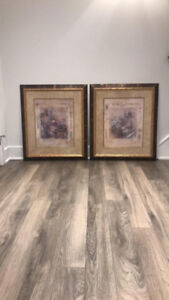 Set of two Beethoven pictures