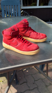 Size 13 Air Force 1 Red