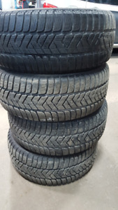 4x Pirelli Sottozero 3 225/40R18 92V Winter Tires 9/32