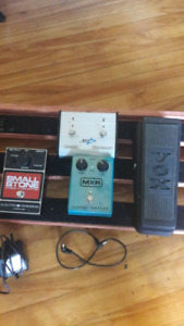 Phaser, wah, Trem and Footswitch