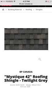 Twilight Grey Shingles & Shovel
