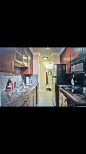 Shared condo with room for rent in Edmonton.