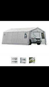 Shelterlogic clearview outdoor garage