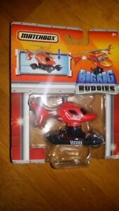 Matchbox Big Rig Buddies Diecast Parts Roger the Helicopter