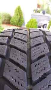 4 Hankook 195-60-15 winter tires