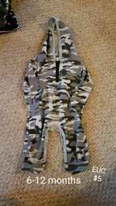 6-12 month baby boy sleepers