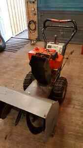 "8 Horse power 26"" Craftsman snow blower"