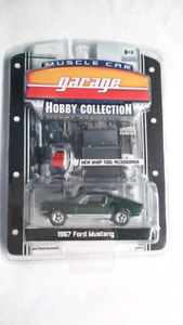 GREENLIGHT 1967 FORD MUSTANG GT MUSCLE CAR HOBBY COLLECTION