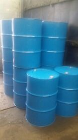 220 litre/45 gallon steel metal reconditioned drums