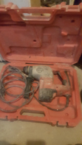 Milwaukee  Hammer Drill with Carrying Case
