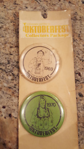 Vintage Kitchener-Waterloo Oktoberfest Collectors Package Button