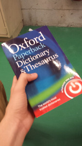 Paperback dictionary  oxford