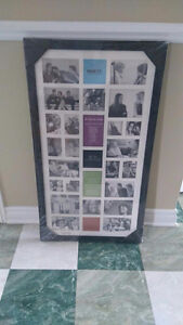 Excellent condition 28 picture Collage frame. St. John's Newfoundland image 2