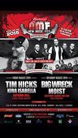 Tim Hicks Kira Isabella Budweiser New Music Fest