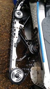 Skidoo zx rear skid and track
