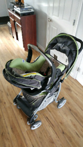 Evenflow Stroller and Car Seat Travel System