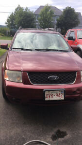 2007 Ford Freestyle Limited edition