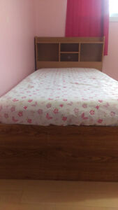 $150. - twin bed wood frame