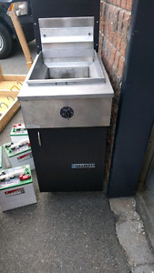 Garland deep fryer