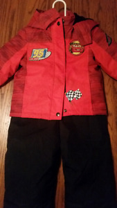 Cars Snowsuit