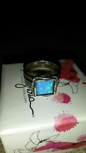 Magnolia Sterling Silver Ring with Opal Oakville / Halton Region Toronto (GTA) image 2
