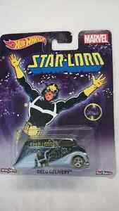 HOT WHEELS MARVEL STAR LORD DECO DELIVERY DIE CAST