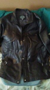 Mens Genuine Leather 3/4 Jacket