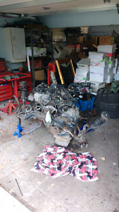 2001 accord f23 complete engine