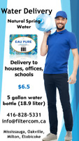 Water Delivery to your House/Office for $6.5 only