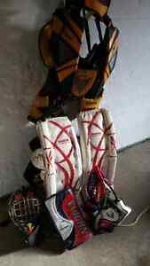 Goalie gear full set