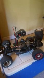 Traxxas Rustler Gas Powered RC Car