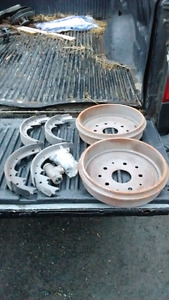 1966 Ford F-150 Brake Drums Shoes and Cylinder