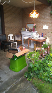 UPDATED SUNDAY Garage Sale Rain or Shine
