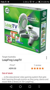 Leap TV system