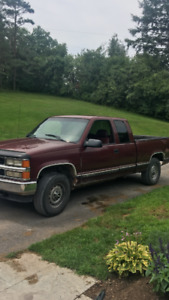 chevy 1500. 4x4. cheyenne package. Need Gone. Open to offers!