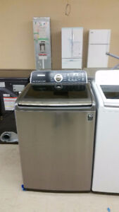 CLEAR TOP LOADER WASHERS & DRYERS DISPLAYS $550 SET $800