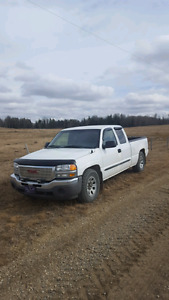 2006 Gmc seirra extended cab rwd