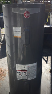 Electric Hot Water Tank - 2015