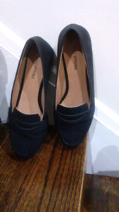 NEW BLACK LOAFRRS FROM SPRING, YOU SET THE PRICE